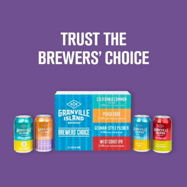 We've been making good choices since '84, so no wonder when we put our new Peach Sour and Cali Common in a mix pack with our Pilsner and IPA it was a