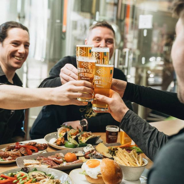 🍻 Great news craft beer lovers! 🍻 Indoor dining is back on in BC, which means our Taproom is open for business both inside and on our brand new patio!
